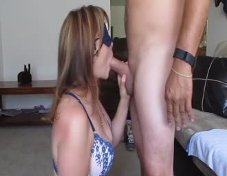 Cuckold spouse satisfying her companion