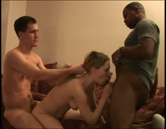 fiance plowed in a interracial threesome