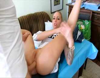 Quick anal and facial