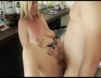 Creampie for a older lady
