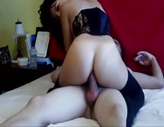 Anal ride with my tight tasty woman