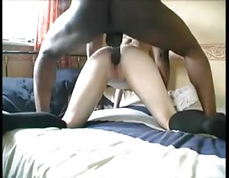 Interracial sex with a petite white chick