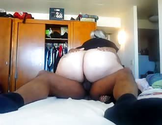 Hard anal sex with fat white broad