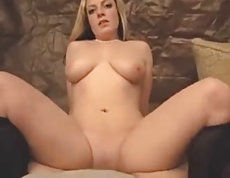 sweet masturbation with boobies