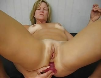 Ex spouse doing a DP untill she cums