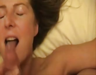 wife gets nice facial