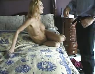 Stacked light-haired likes sex at home