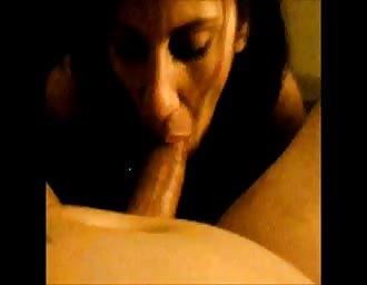 Brenda slurping me