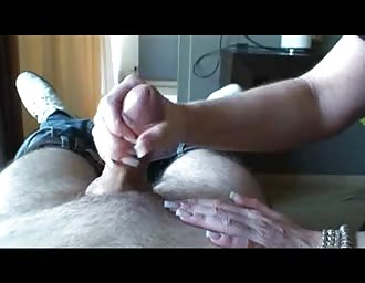 Edging handjob