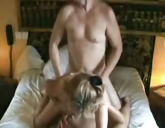 MILF moaning during the doggy fuck