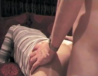 banging her sweet stiff butthole