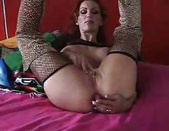 Redhead dp masturbation and suckjob with jizz