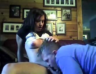 Horny brown hairy gets pussy fingered on cam