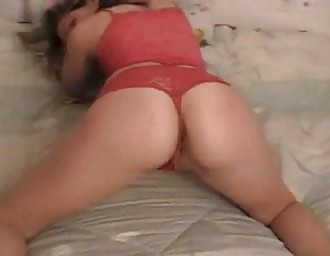 Nice teasing chick stuffed hardcore at home
