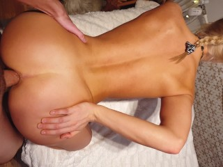 Fit Amateur Gets Her Perfect behind plowed & Gaped - Miss Impulse