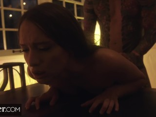 Deeper. Izzy Lush Proves She Will Do Anything He Desires